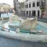 Barcaccia Fountain