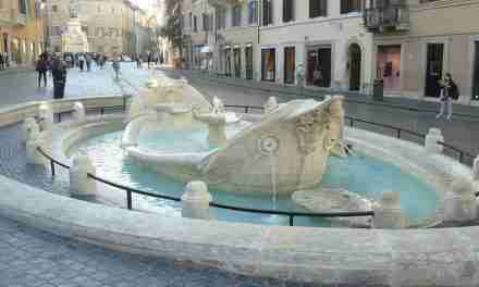 Barcaccia Brunnen