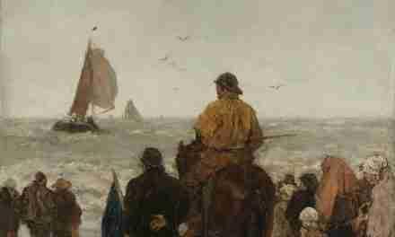 Llegada de los barcos