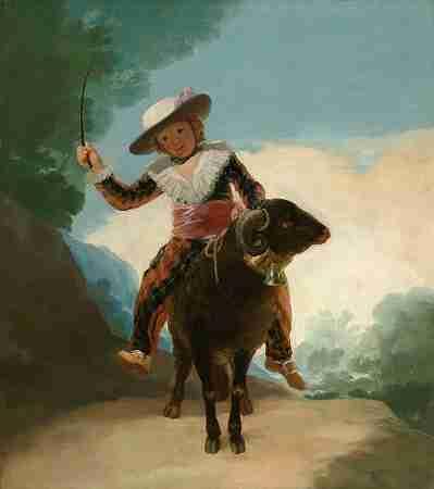 Boy on a ram
