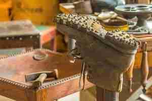 Altes Schuhmacherhandwerk